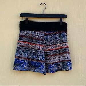 French Laundry Shorts in Blue/Black Size M